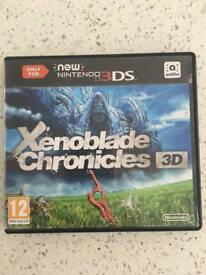 Xenoblade Chronicles 3D Nintendo 3DS, 2DS, 3DS XL, 2DS XL Game,