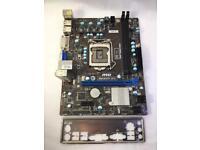 MSI H61M-P31 (G3) LGA 1155 Intel Motherboard £60 ONO