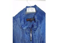 *REDUCED* BLUE FOLDAWAY JACKET