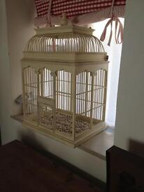 Lovely decorative birdcage large