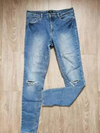 2 F&F jeans size 12/40