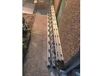 X 2 Abru Starmaster 350 Ladders