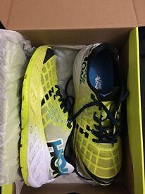 Hoka one one men's Clayton uk size 9 running shoes