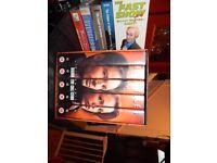 X Files sets; season two.. five. six & seven box sets