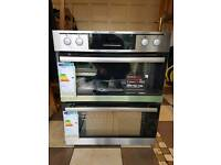 AEG NC4013021M Electric Double Oven - Stainless Steel Rrp £575