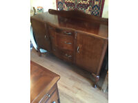 Vintage sideboard , feel free to view, in good condition.