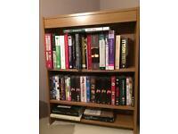 Lovely oak bookcase for sale