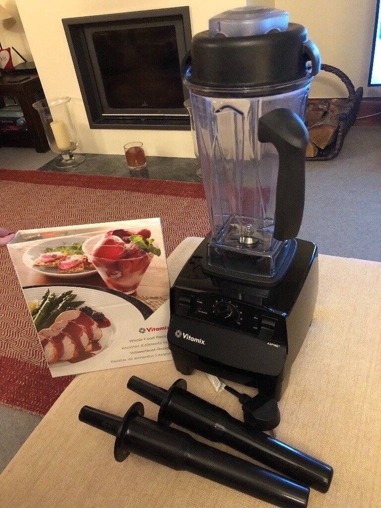 Vitamix Aspire Blender In Black With Whole Food Recipes