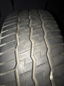 Mercedes Vito Steel Wheel and Tyre