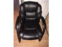 Leather office meeting boardroom chair
