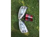 Vauxhall combo lights
