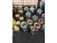 Wedding ....Kitchen Storage Kilner Jars Bottles Assorted