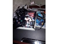 Ps3 four games and controler
