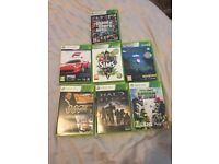 XBOX 360 - 250gb with 7 games