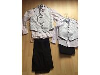2 Boys Wedding Suits - Size 8 and Size 13-14 years old - NEW - never used