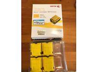 Xerox ColorQube Solid Ink Yellow x 4. Cartridge free, 8870/8880 series