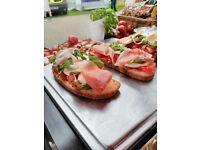 Italian Restaurant: Manager, Chef, Barista, Baker, Sales Assistant
