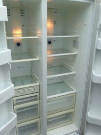 Black Samsung American fridge freezer...cheap Freee delivery