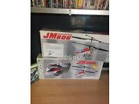 2 Metal Proportional R/C Coaxial Helecopters
