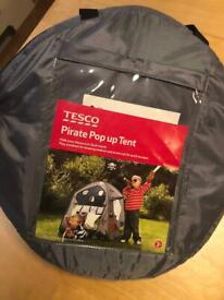 Kids pop up play tent