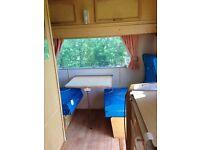 4/5 berth touring caravan abbey GTS 415 approx 1992