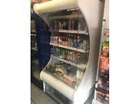 JBG 2 Open Chiller Commercial fridge