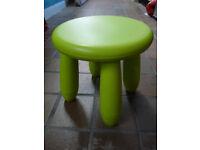 Ikea Childrens Toddlers Stool Chair Mammut Model