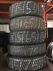 Various 15 inch single tires . 215, 205, 195.