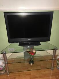 SONY TV and Table