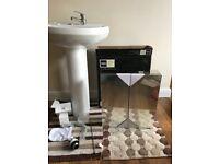 Bathroom Wash Basin & Bathroom Cabinet