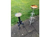 GARDEN PLANT STANDS X2 selling individually