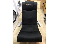 X-Rocker Gaming chair with in built speakers and sub-woofer