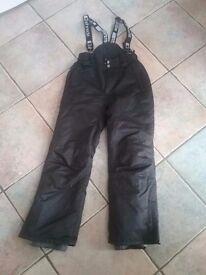 Boys black ski trousers - Shredz