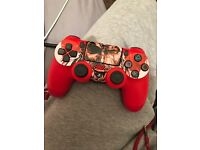 PS4 controller like new red