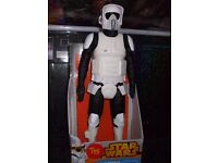 Star Wars Biker Scout (19 inch Action Figure)