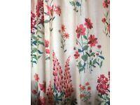 Brand new Laura Ashley Fernshaw Cranberry curtains