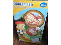 Jake and never land toddlers bed plus mattress