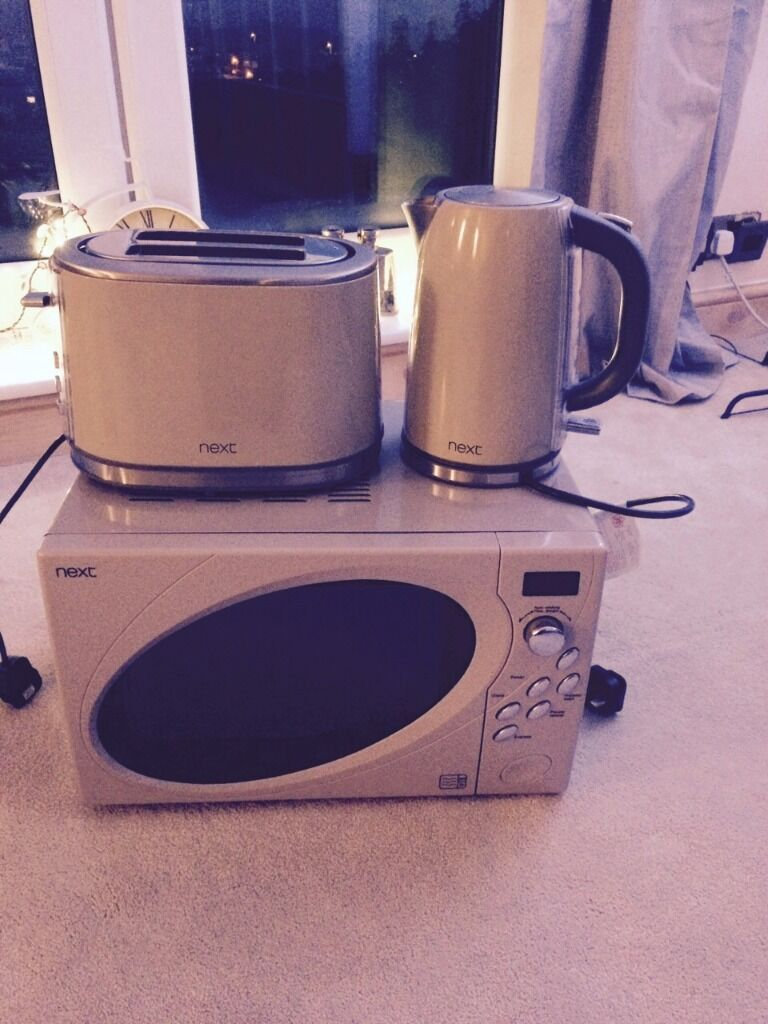 Kitchen kettles and toaster images for Kitchen set kettle toaster microwave