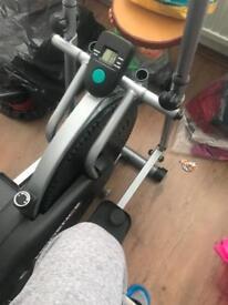 Work out bike