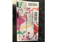 Green man festival tickets x2