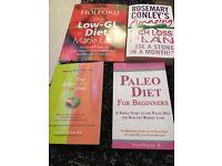 4 diet books