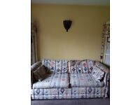 Sofa bed - tatty but in excellent working order and comfortable