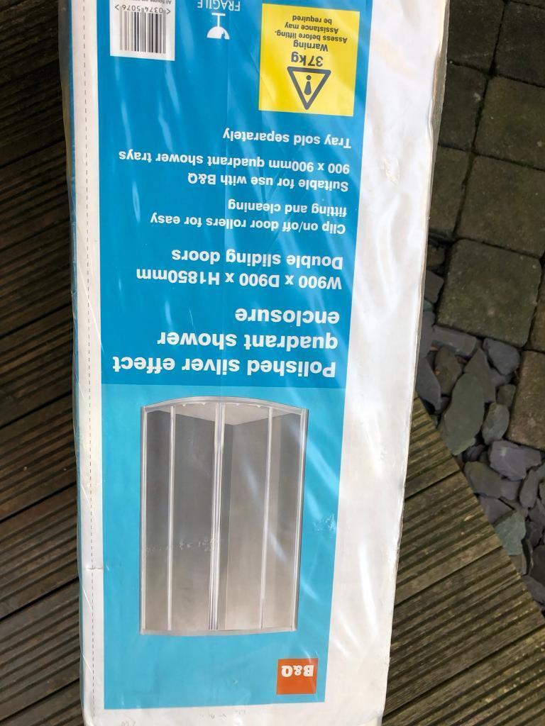 Shower enclosure - 900mm x 900mm