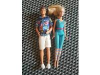Barbie and ken toy story 3