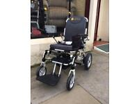 Electric Wheelchair Remote Folding