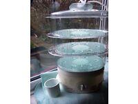 Tefal steam Cuisine food steamer