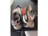 Nike air trainers size 12. Worn but still got life left in them. Collection from Glen Parva