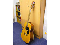 Keiper 12-String Electro-Acoustic Dreadnought Guitar