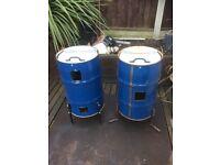 Burning bins/ incinerators/compost bins