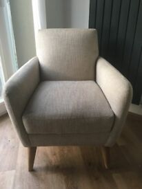 2 x Matching Marks and Spencer Jolie Armchairs